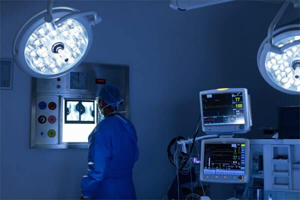 rear view of Robotic Operation Room